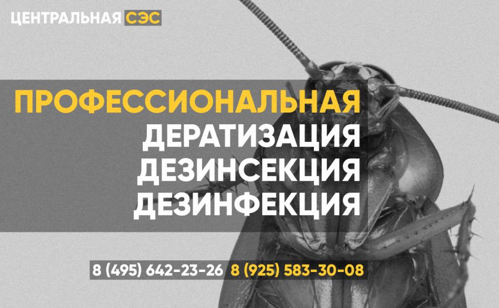 Профессиональная Дезинсекция Дезинфекция Дератизация СЭС Ликино-Дулёво